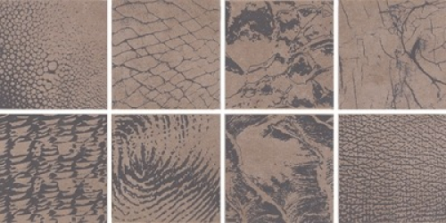 Steuler Thinsation Dekorationsset 8-teilig jeweils 15x15 cm ,,Zoom´´ taupe 30x60 cm