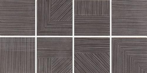 Steuler Thinsation Dekorationsset 8-teilig jeweils 15x15 cm ,,Linea´´ anthrazit 30x60 cm