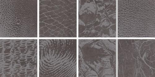 Steuler Thinsation Dekorationsset 8-teilig jeweils 15x15 cm ,,Zoom´´ anthrazit 30x60 cm