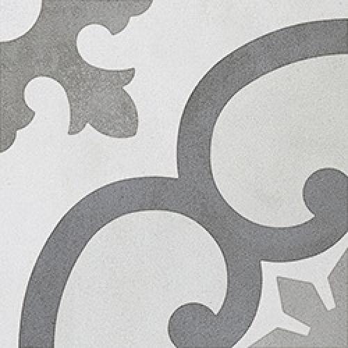 Steuler Casablanca Bodenfliese Mischsortierung noir-blanc matt 25x25 cm