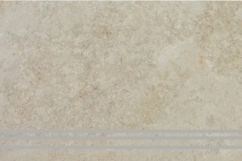 Steuler Treppenfliese Stone Collection - Limestone Y75177001 beige 37,5x75 cm