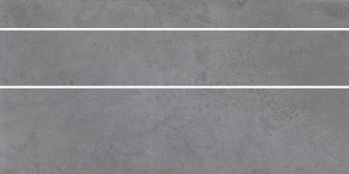 Steuler Cardiff Bodenfliesenset quarzgrau matt 3-teilig 37.5x75 cm