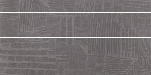 Steuler Cardiff Dekorset taupe matt 3-teilig 37.5x75 cm