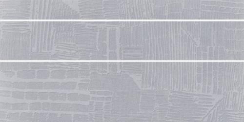 Steuler Cardiff Dekorset silber matt 3-teilig 37.5x75 cm