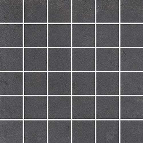 Steuler Cardiff Mosaik asphalt matt 30x30 cm