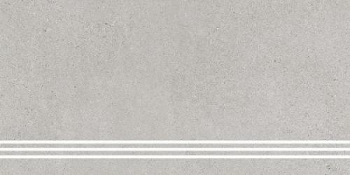 Steuler Steinwerk Treppenfliese kiesel matt 37.5x75 cm