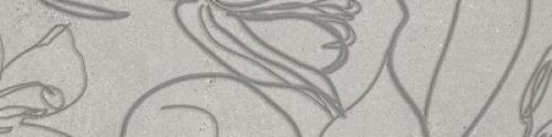 Steuler Steinwerk Dekor ,,Blüte´´ kiesel matt 18.75x75 cm