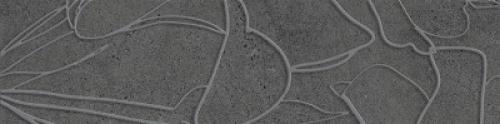 Steuler Steinwerk Dekor ,,Blüte´´ grafit matt 18.75x75 cm