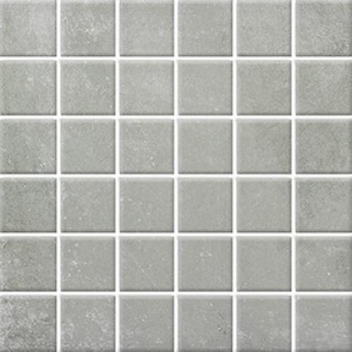 Steuler Terre Mosaik grigio matt 30x30 cm
