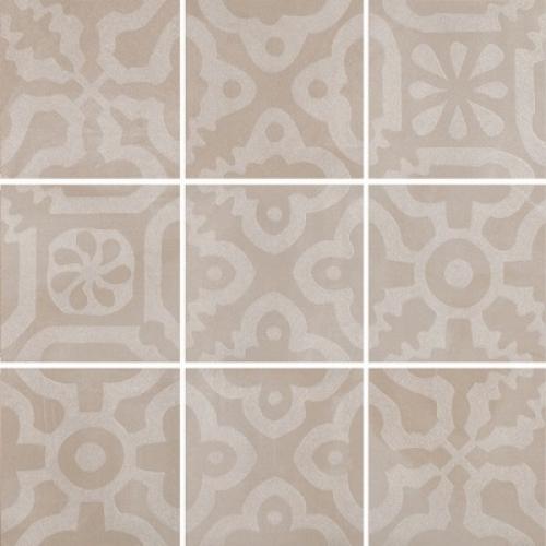 Steuler Campus Dekorationsset ,,Domo´´ sand matt 9-teilig 75x75 cm