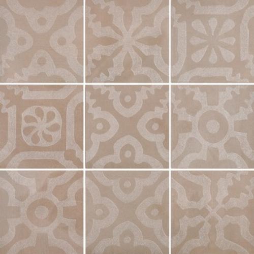 Steuler Campus Dekorationsset ,,Domo´´ taupe matt 9-teilig 75x75 cm