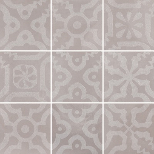 Steuler Campus Dekorationsset ,,Domo´´ grau matt 9-teilig 75x75 cm